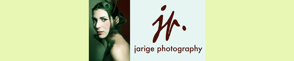 Boston Portrait & Wedding Photographer | Jarige Photography logo